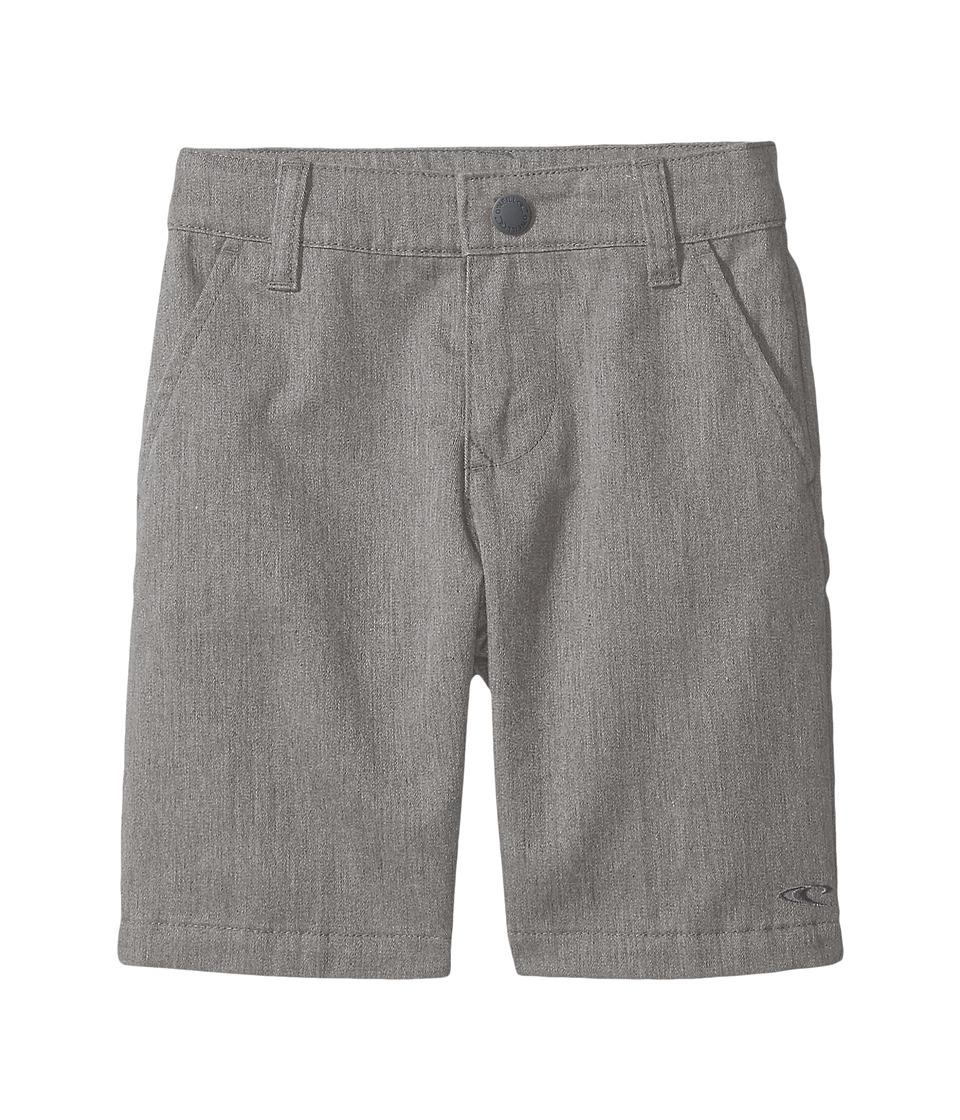 O'Neill Kids - Contact Shorts (Little Kids) (Heather Grey) Boy's Shorts