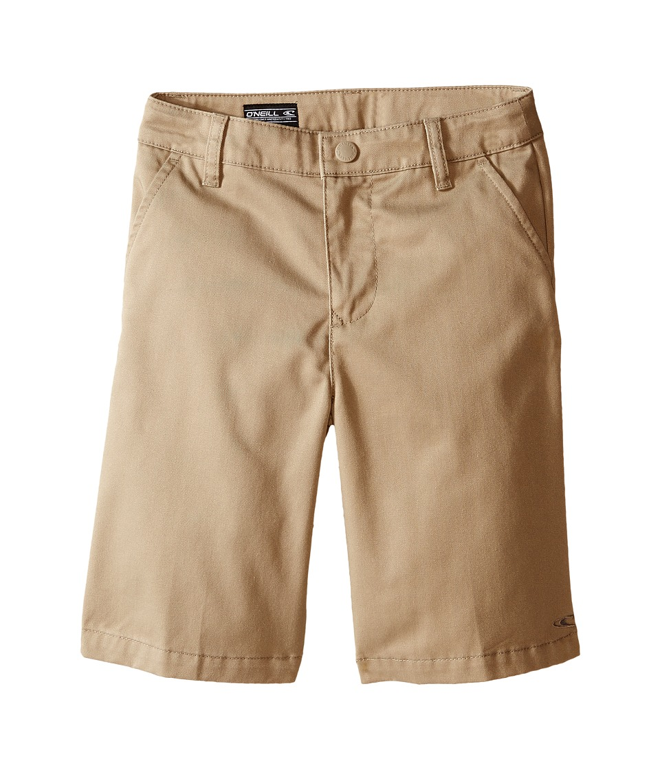 O'Neill Kids - Contact Shorts (Little Kids) (O'Neill Khaki) Boy's Shorts