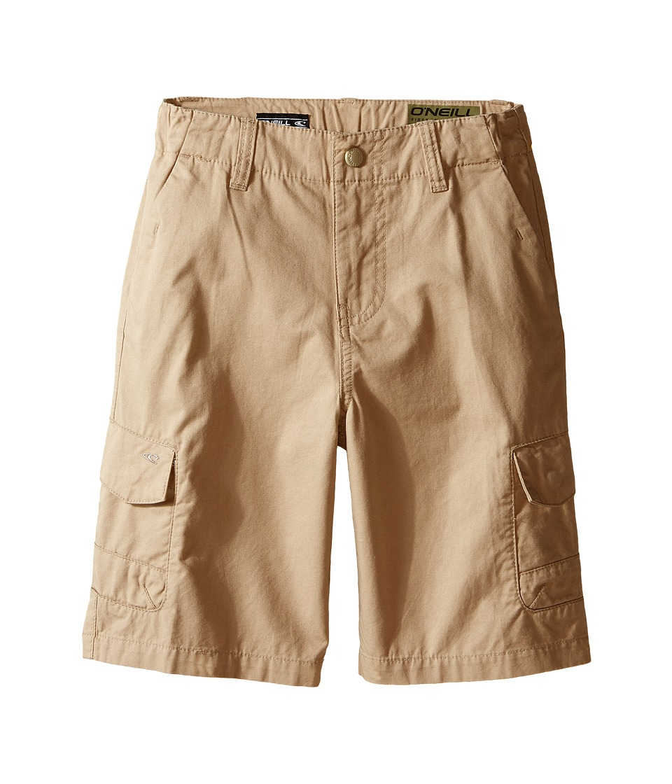 O'Neill Kids - Black Hawk Shorts (Little Kids) (Khaki) Boy's Shorts