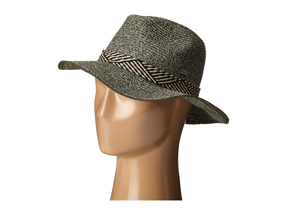Roxy - Beach Memories Straw Hat (Dark Midnight) Fedora Hats