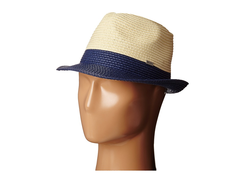 Roxy - Monoi Straw Fedora Hat (Eclipse) Fedora Hats