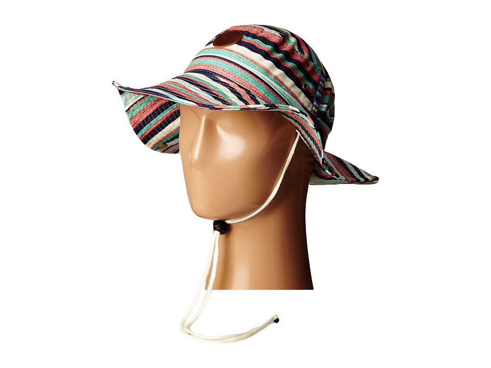 Roxy - Into The Sun Bucket Hat (Yandi Stripe/Combo Eclipse) Traditional Hats