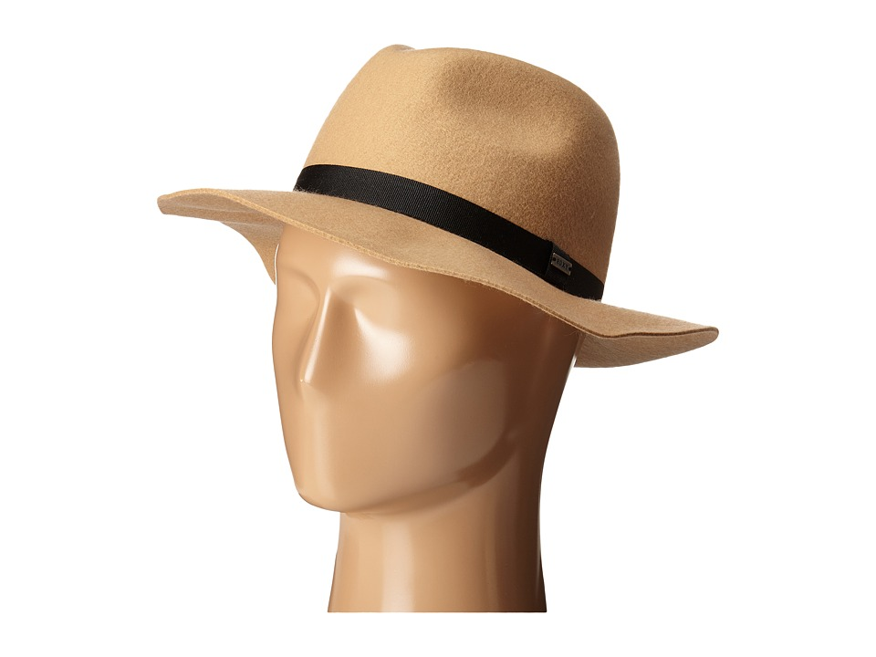 Roxy - Little Ma Fedora Hat (Bleached Sand) Traditional Hats