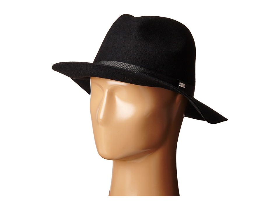 Roxy - Little Ma Fedora Hat (True Black) Traditional Hats