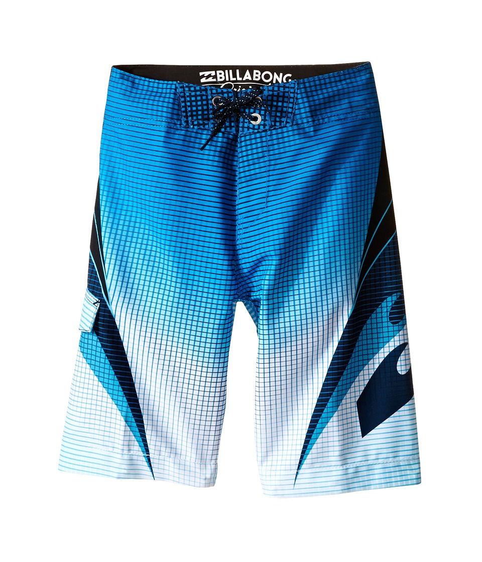 Billabong Kids - Fluid Boardshorts (Big Kids) (Blue) Boy's Swimwear