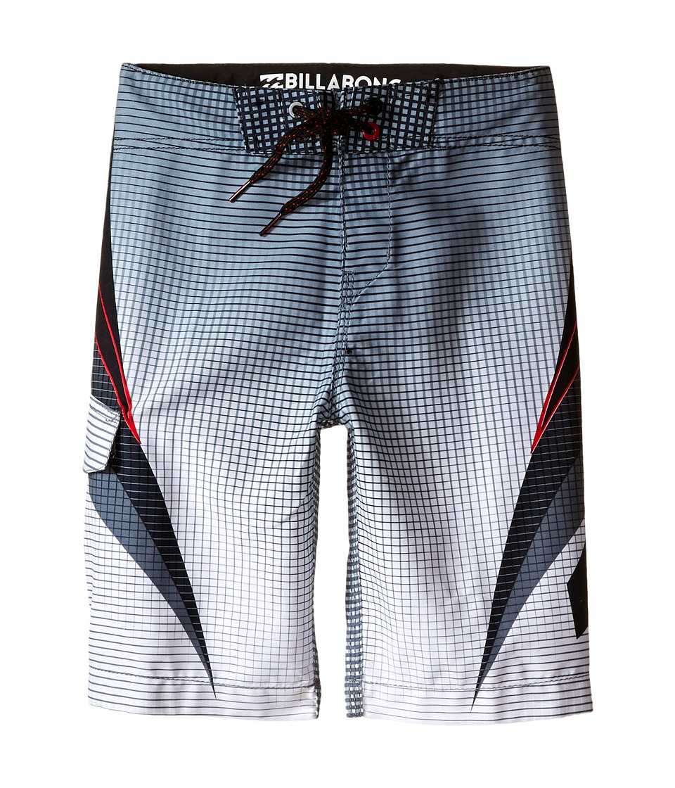 Billabong Kids - Fluid Boardshorts (Big Kids) (Stealth) Boy's Swimwear