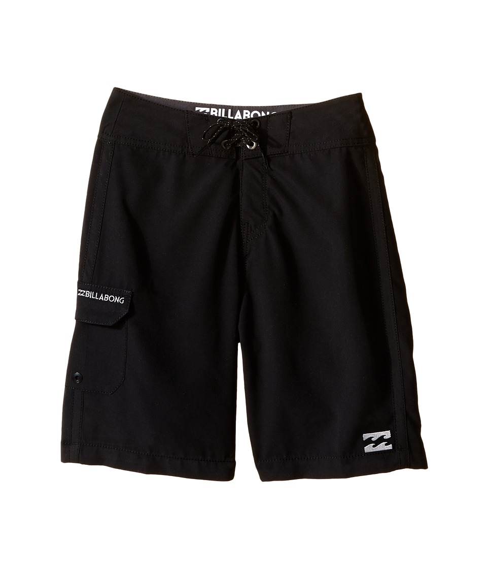 Billabong Kids - All Day Boardshorts (Big Kids) (Black) Boy's Swimwear