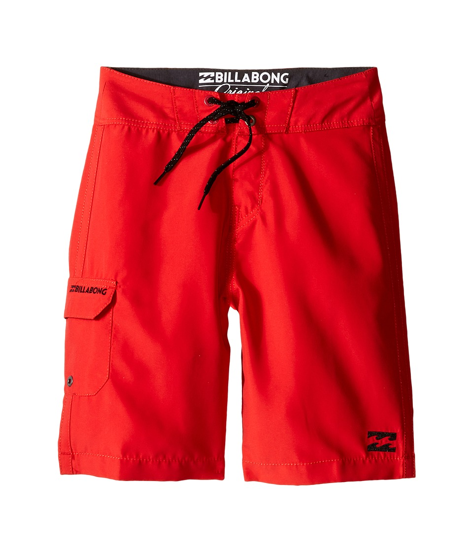 Billabong Kids - All Day Boardshorts (Big Kids) (Bright Red) Boy's Swimwear