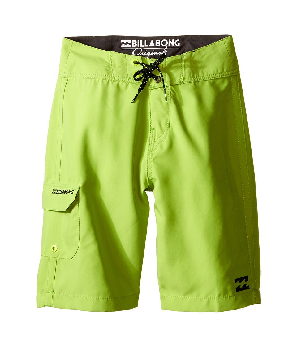 Billabong Kids - All Day Boardshorts (Big Kids) (Lime) Boy's Swimwear