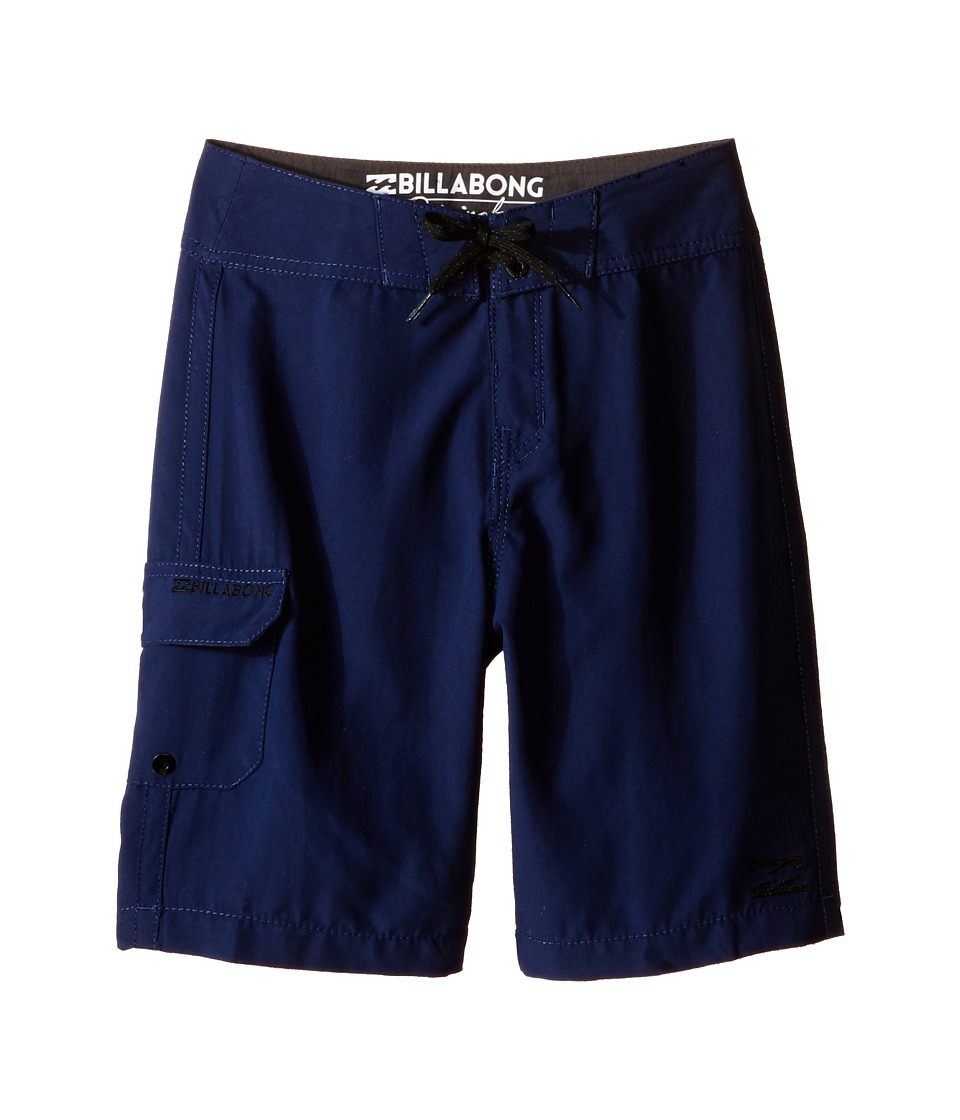 Billabong Kids - All Day Boardshorts (Big Kids) (Navy) Boy's Swimwear
