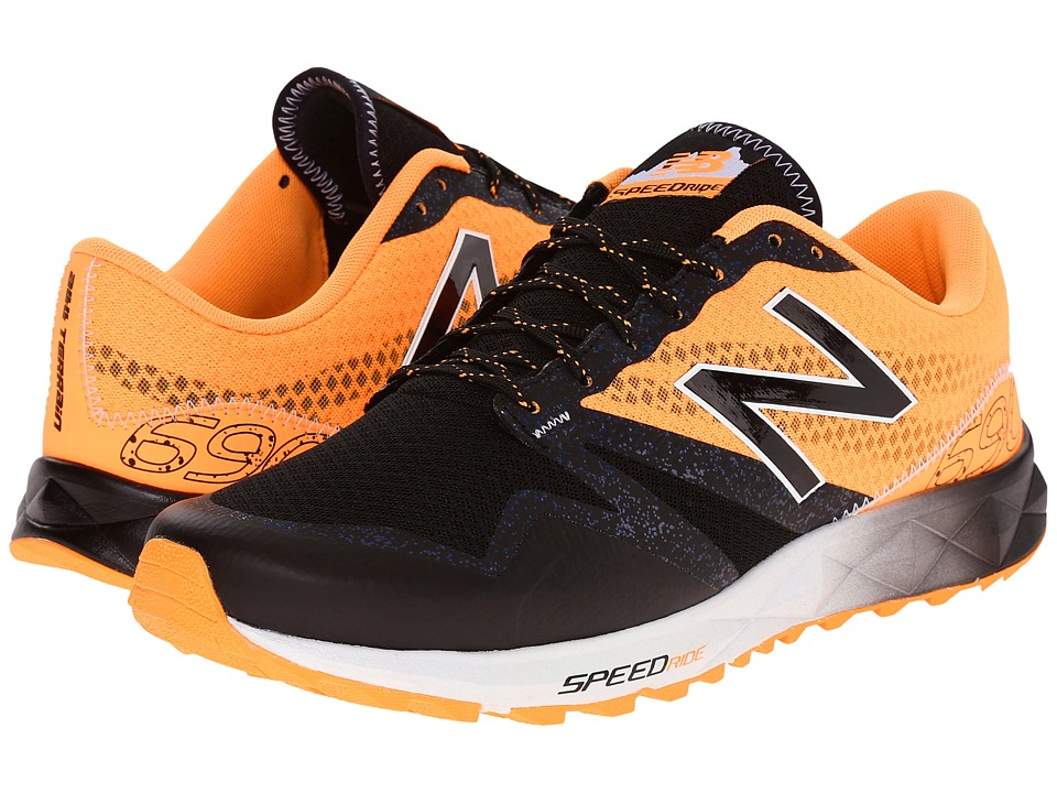 New Balance - T690v1 (Black/Impulse) Men's Running Shoes
