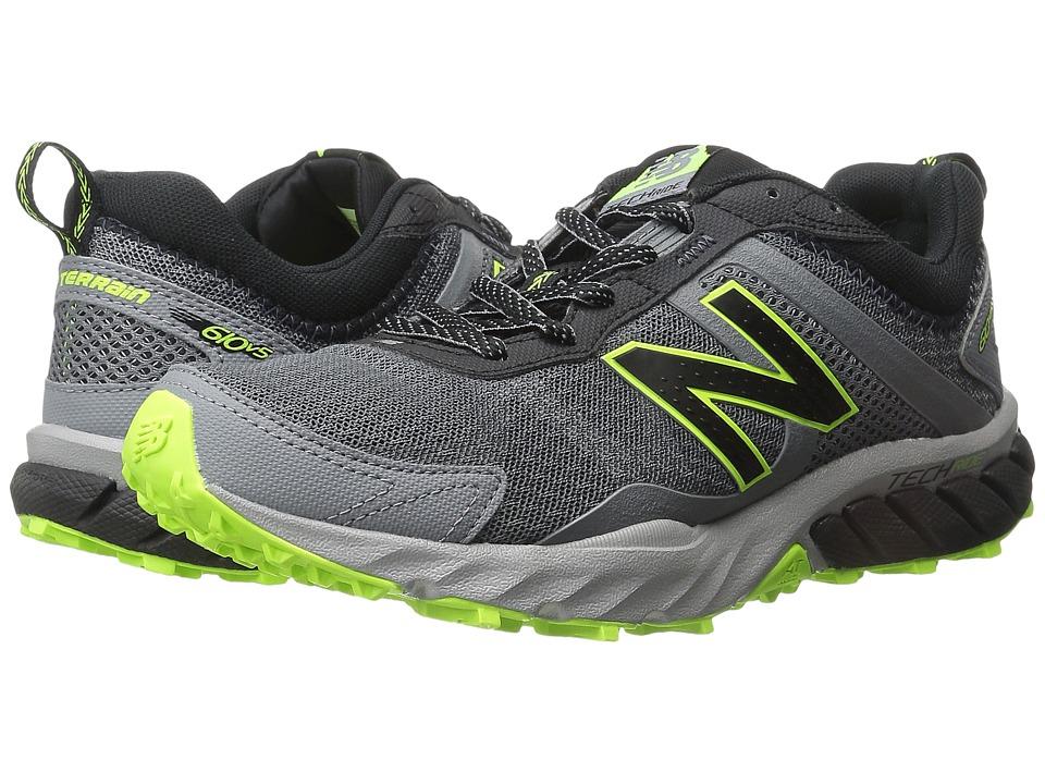 New Balance - T610v5 (Cyclone/Black) Men's Running Shoes