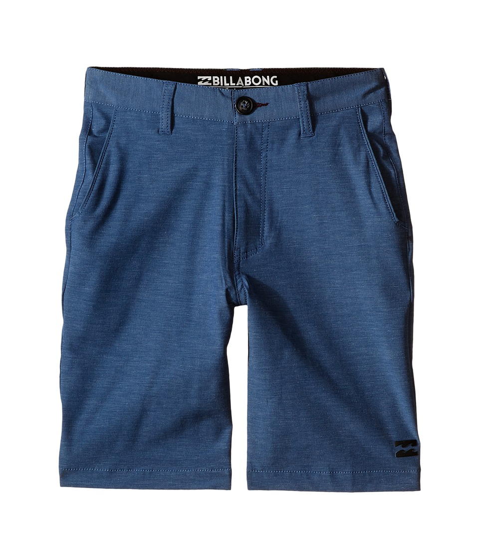 Billabong Kids - Crossfire X Shorts (Big Kids) (Dark Royal) Boy's Shorts