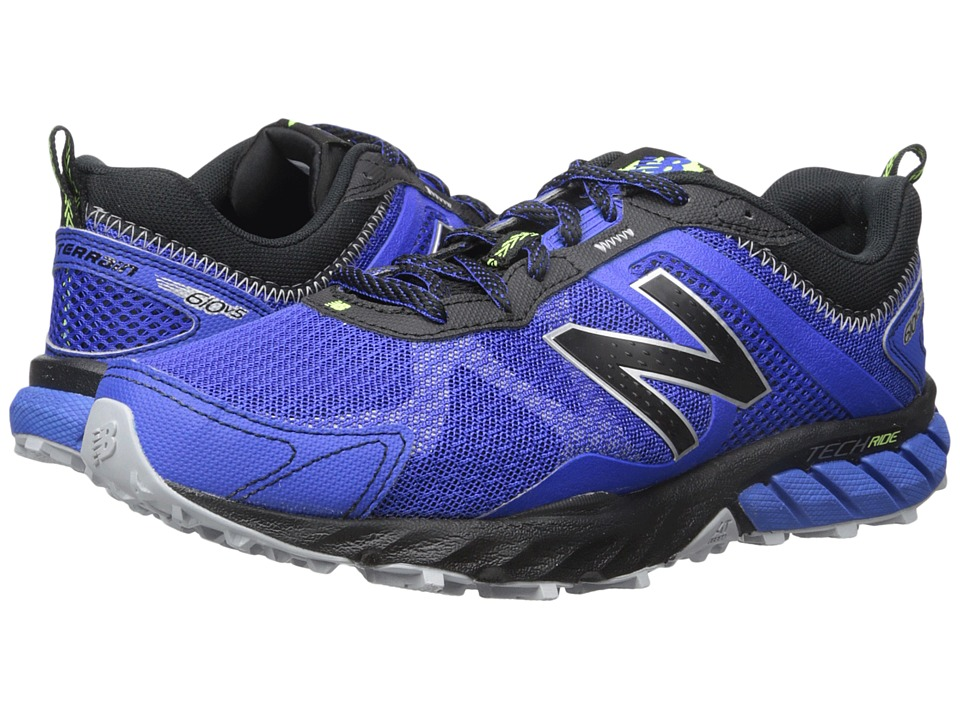 New Balance - T610v5 (Pacific/Black) Men's Running Shoes