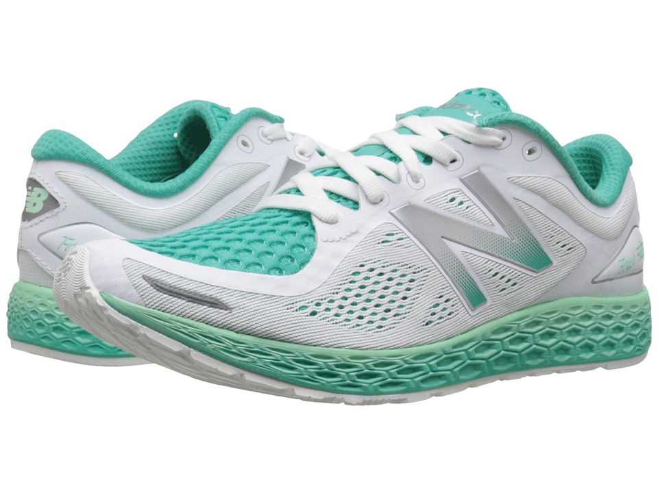New Balance - FF Zante V2 (White/Sea Foam) Women's Shoes