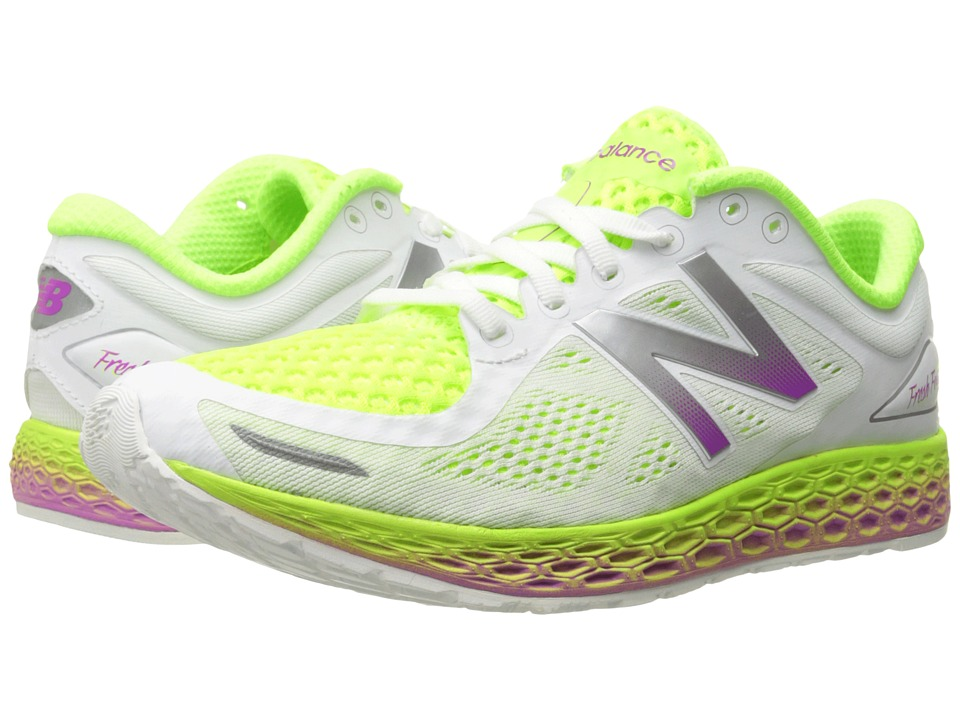 New Balance - FF Zante V2 (White/Hi-Lite) Women's Shoes