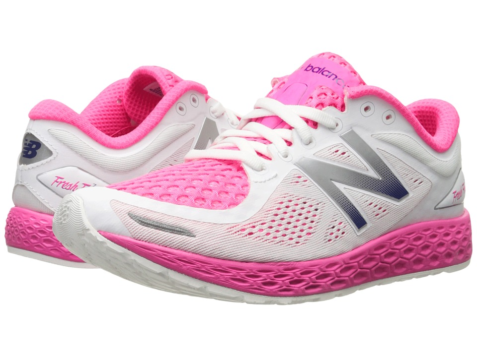 New Balance - FF Zante V2 (White/Amp Pink) Women's Shoes