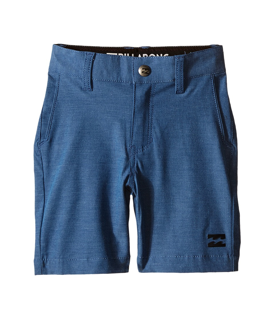 Billabong Kids - Crossfire X Shorts (Toddler/Little Kids) (Dark Royal) Boy's Shorts