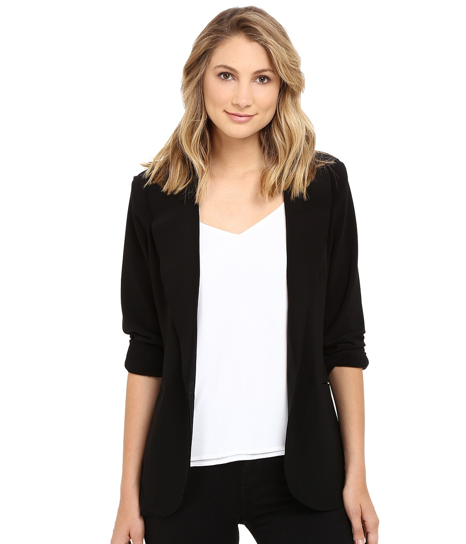 KAMALIKULTURE by Norma Kamali - Single Breasted Jacket (Black) Women's Jacket