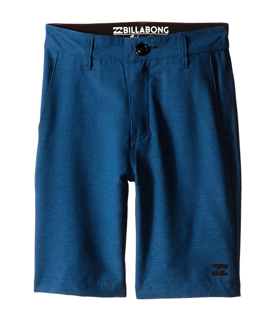 Billabong Kids - Carter Heather Submersible Shorts (Big Kids) (Marine Heather) Boy's Shorts