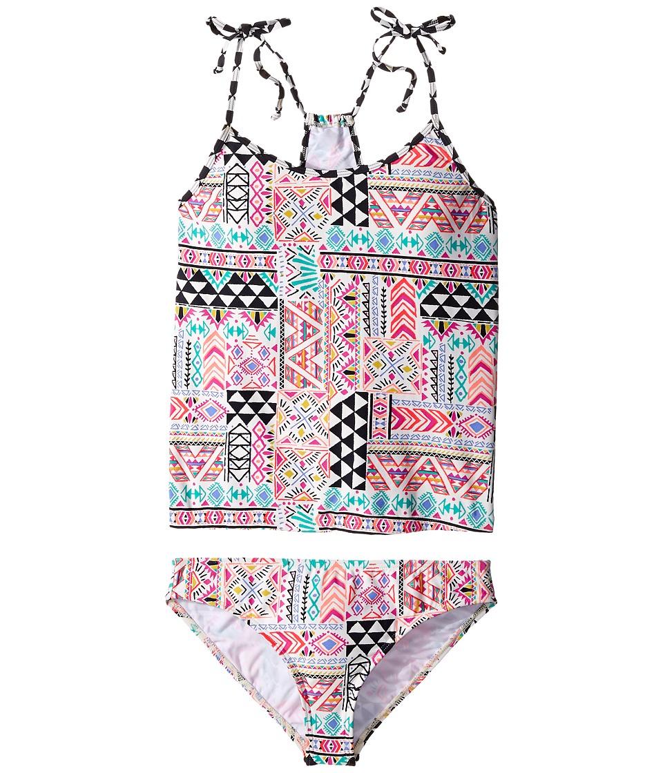 Billabong Kids - Mystical Madness Tankini Swimsuit (Little Kids/Big Kids) (Multi) Girl's Swimwear Sets