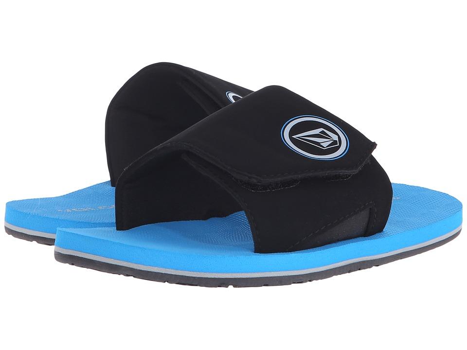 Volcom Kids - Stryker Slide (Little Kid/Big Kid) (Marina Blue) Boys Shoes