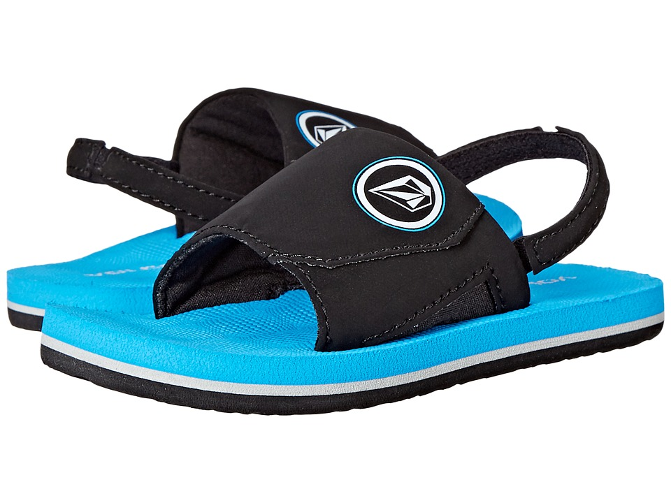 Volcom Kids - Stryker Slide (Toddler/Little Kid) (Marina Blue) Boys Shoes