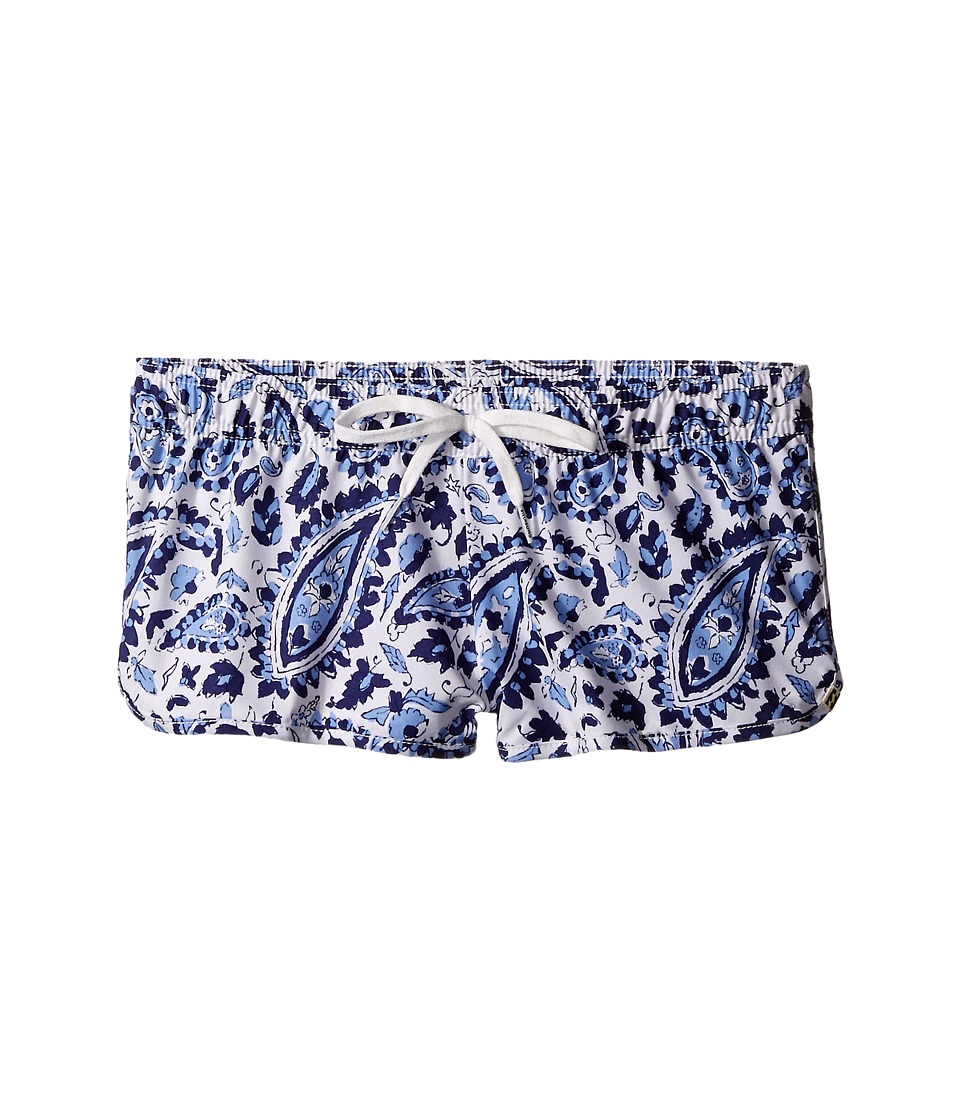 Billabong Kids - Penny Paisley 1.5 Volley Shorts (Little Kids/Big Kids) (Blue Cruz) Girl's Swimwear