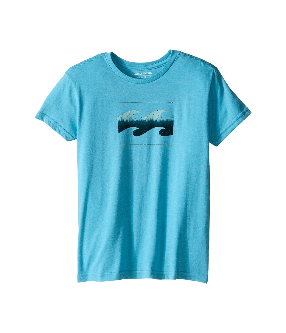 Billabong Kids - Altered T-Shirt (Toddler/Little Kids) (Aqua Heather) Boy