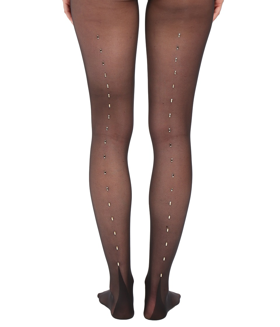 Wolford - Paris Tights (Black/Gold) Hose