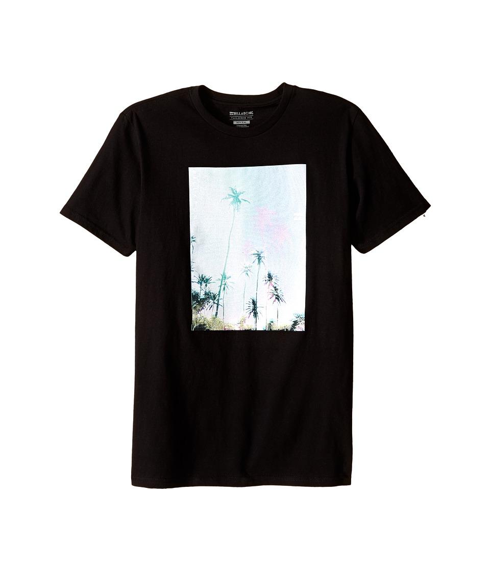 Billabong Kids - Tropic Haze T-Shirt (Big Kids) (Black) Boy's T Shirt