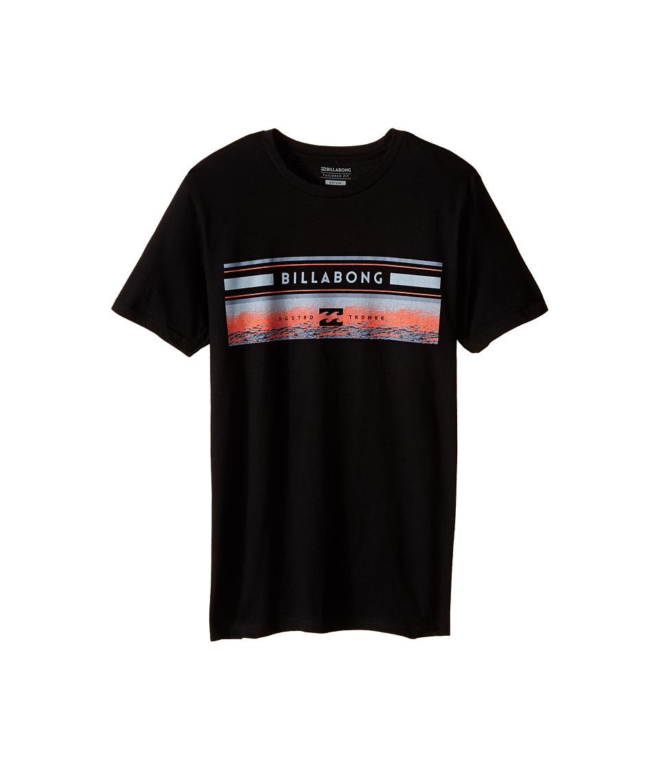 Billabong Kids - Sunset Spin T-Shirt (Big Kids) (Black) Boy's T Shirt