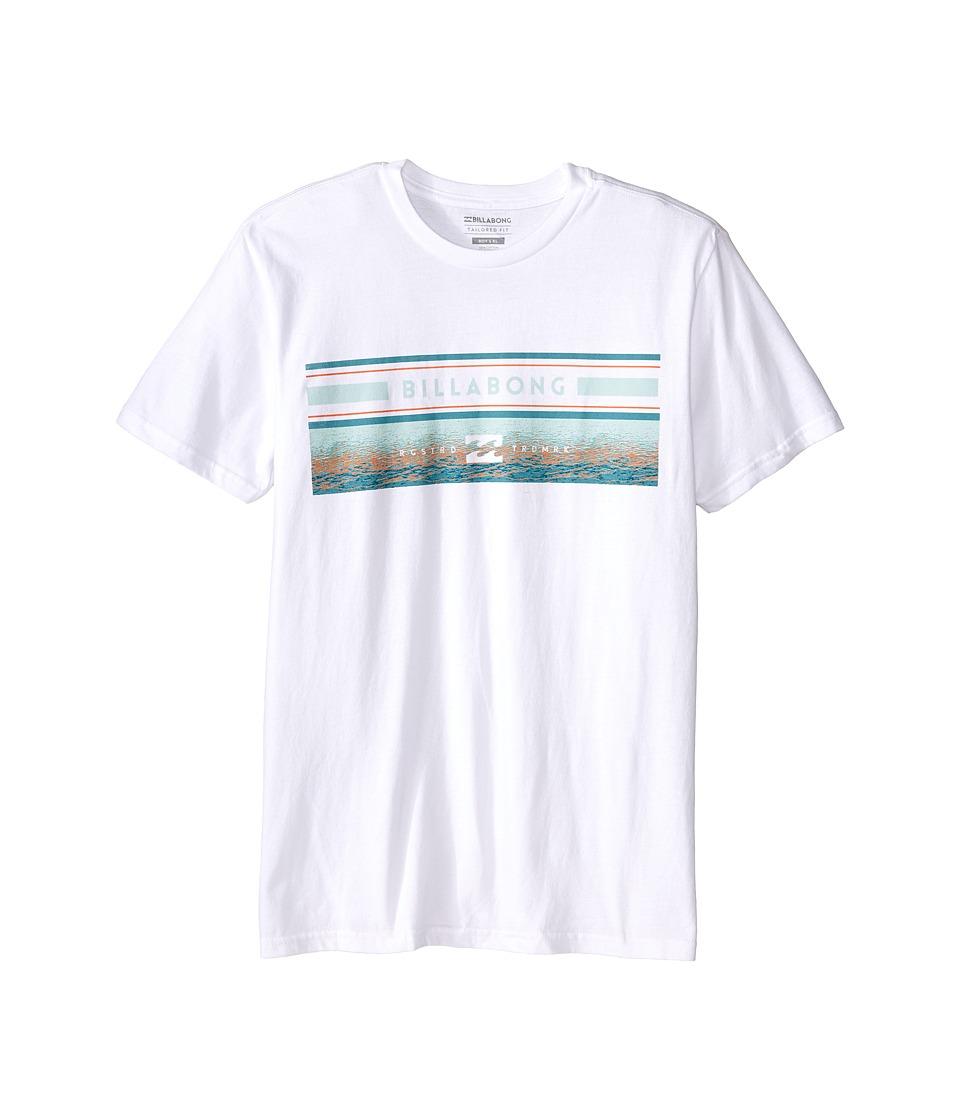 Billabong Kids - Sunset Spin T-Shirt (Big Kids) (White) Boy
