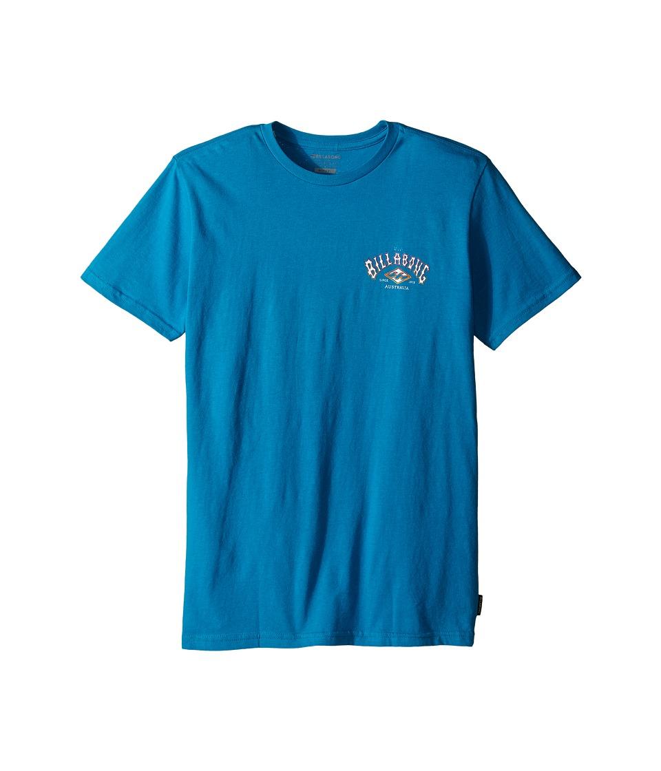 Billabong Kids - Arched T-Shirt (Big Kids) (Bright Blue) Boy
