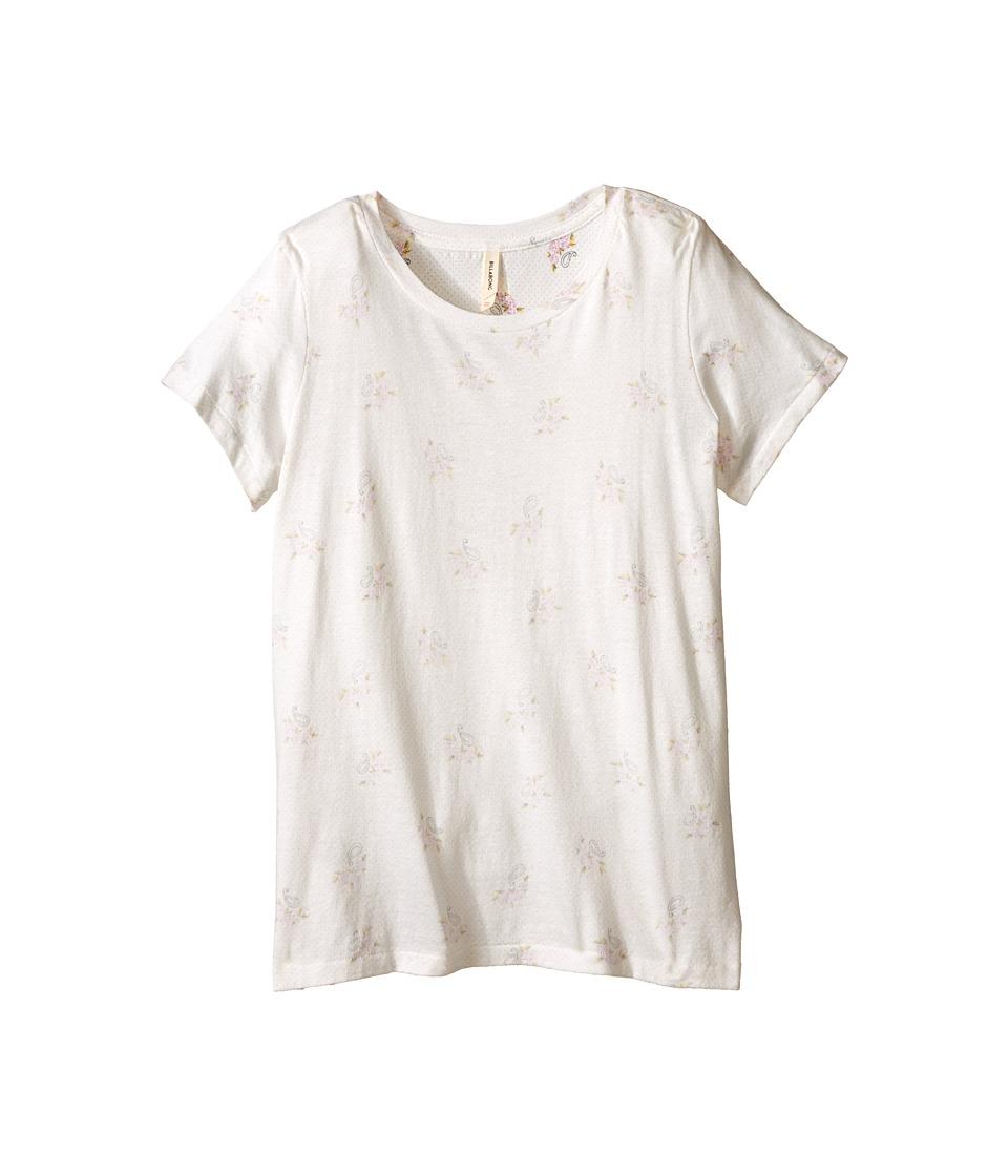 Billabong Kids - Dancing Flowers Tee (Little Kids/Big Kids) (Cool Wip) Girl's T Shirt