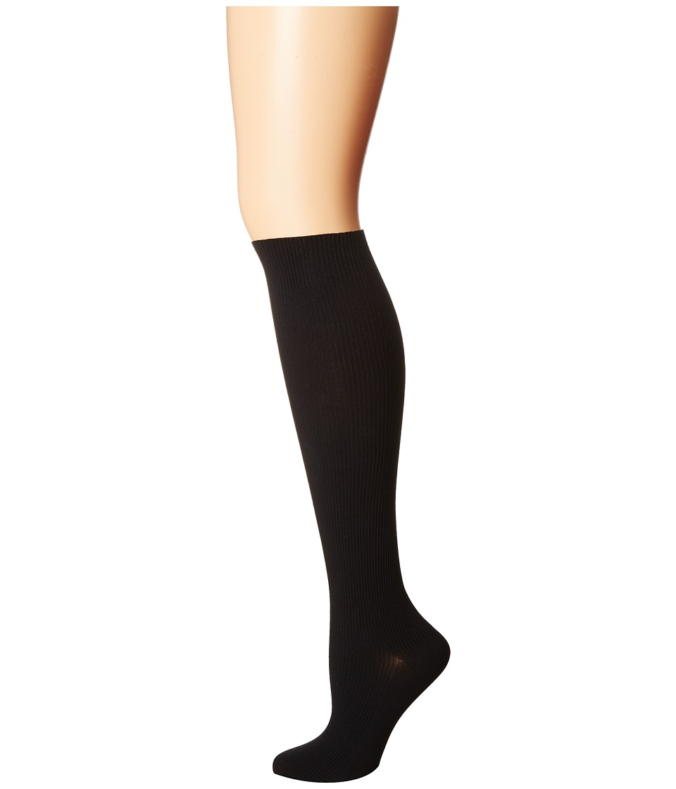 Wolford - Louise Overknees (Black) Women's Quarter Length Socks Shoes