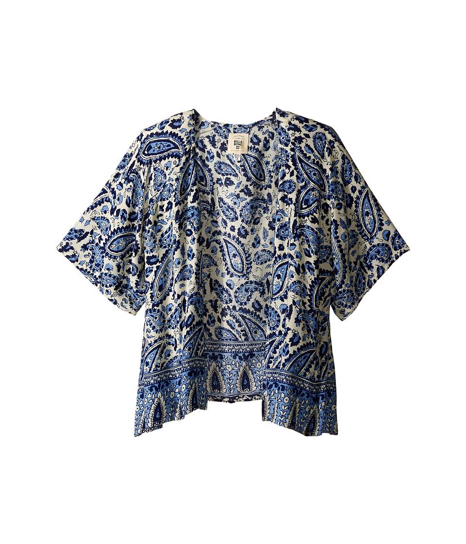 Billabong Kids - Wild Shores Kimono (Little Kids/Big Kids) (Chambray) Girl's Blouse