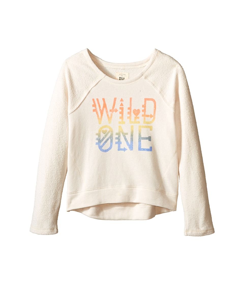 Billabong Kids - Mermaid Cove Pullover Crew (Little Kids/Big Kids) (White Cap) Girl's Sweatshirt