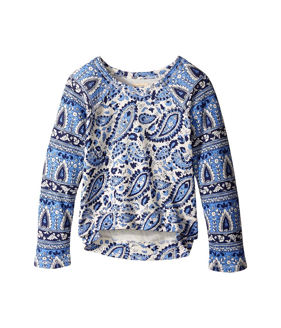 Billabong Kids - Hear Me Out Pullover Crew (Little Kids/Big Kids) (Chambray) Girl's Sweatshirt