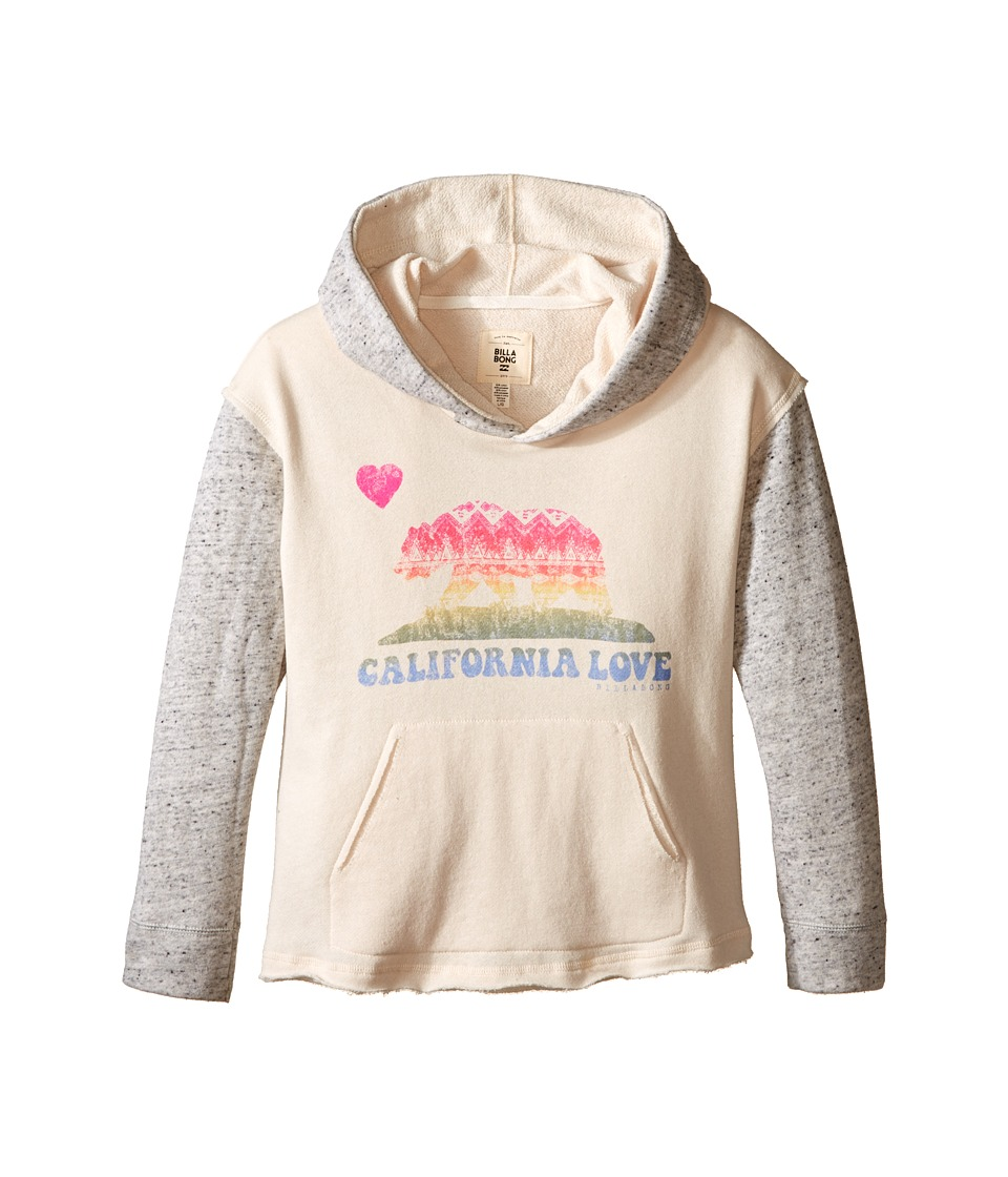 Billabong Kids - Find Again Hoodie (Little Kids/Big Kids) (White Cap) Girl's Sweatshirt
