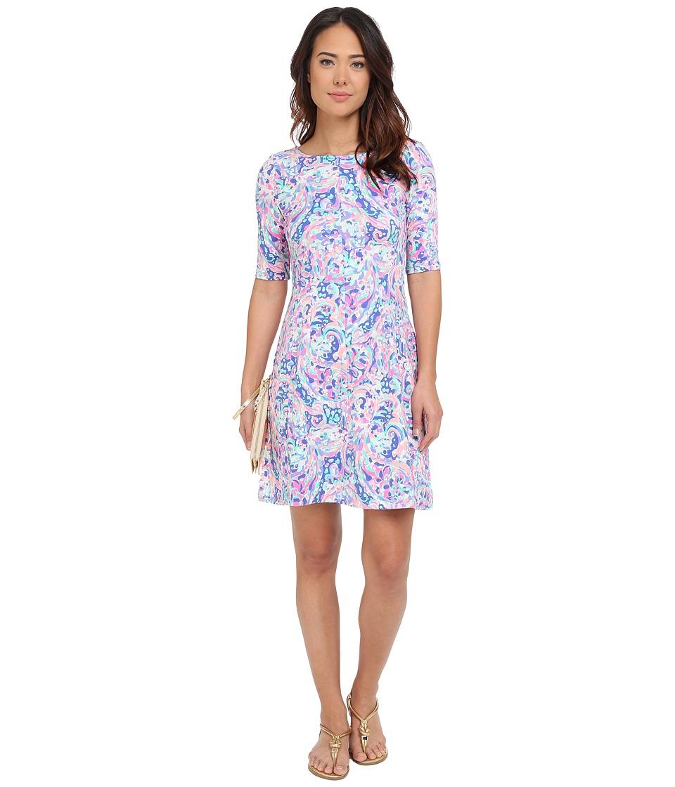 Lilly Pulitzer - Celia Dress (Multi La Playa) Women's Dress