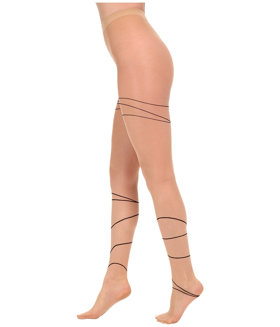 Wolford - Allison Tights (Gobi/Black) Hose