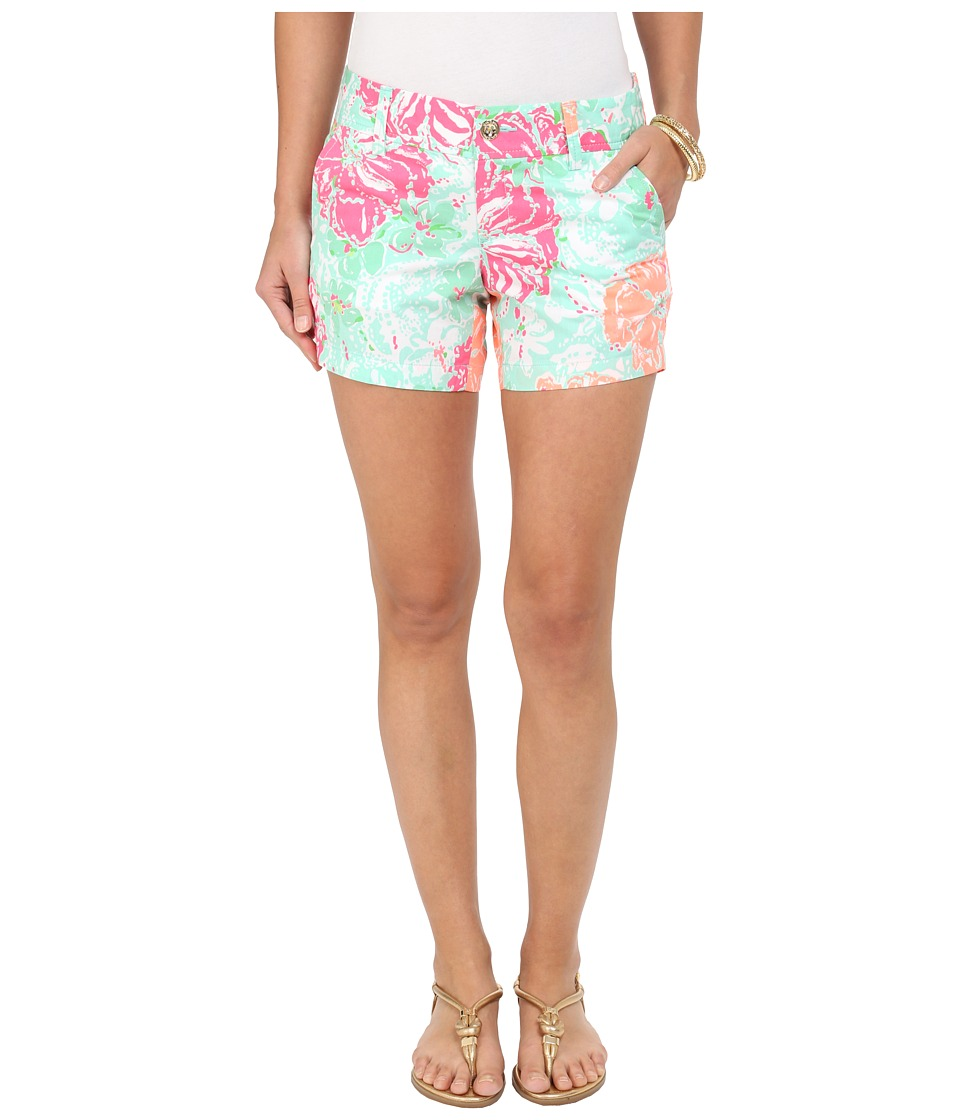 Lilly Pulitzer - Callahan Shorts (Poolside Blue Beach Walk) Women's Shorts
