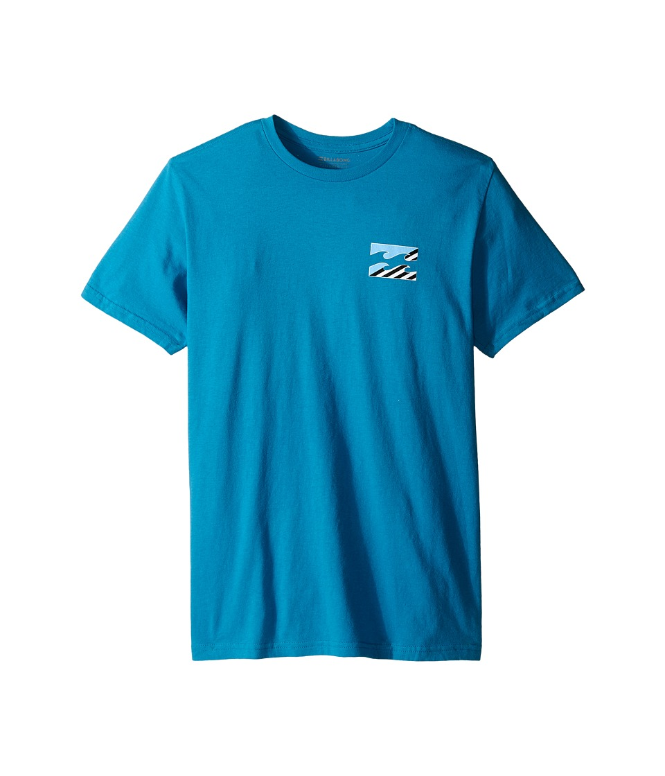 Billabong Kids - Monstro T-Shirt (Big Kids) (Bright Blue) Boy's T Shirt