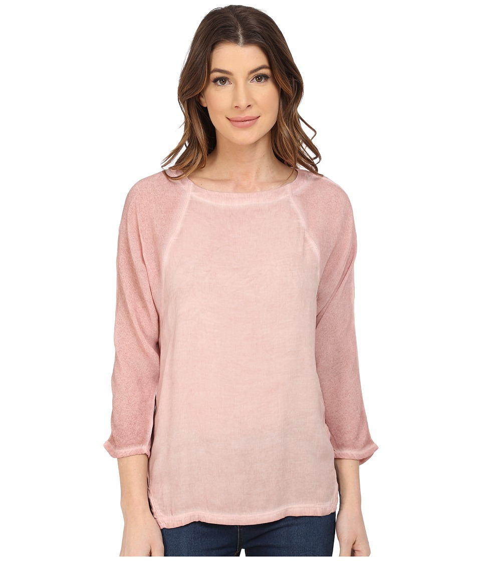 XCVI - Vicksburg Top (Acid Rose Wash) Women's Clothing