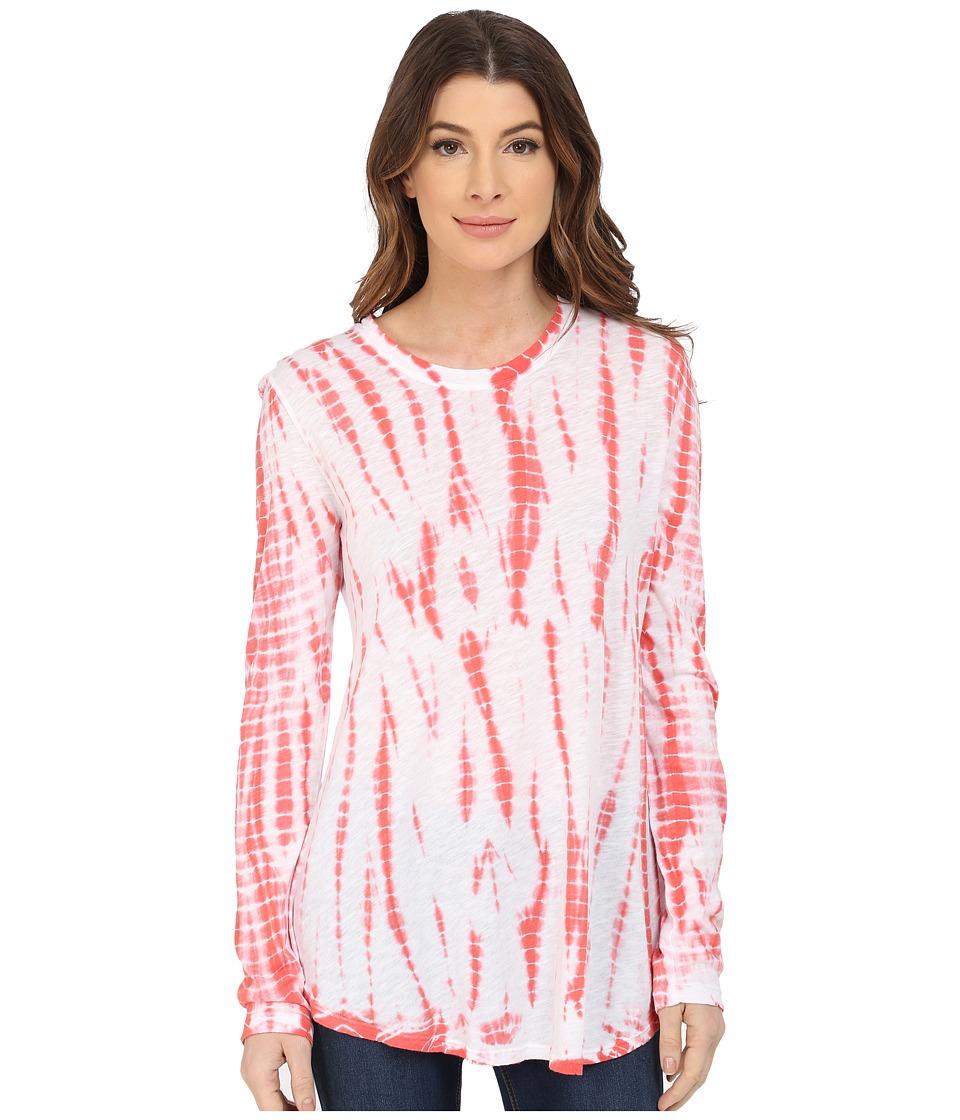 XCVI - Yellow Stone Top (Alpine Wash Rosebloom) Women's Clothing