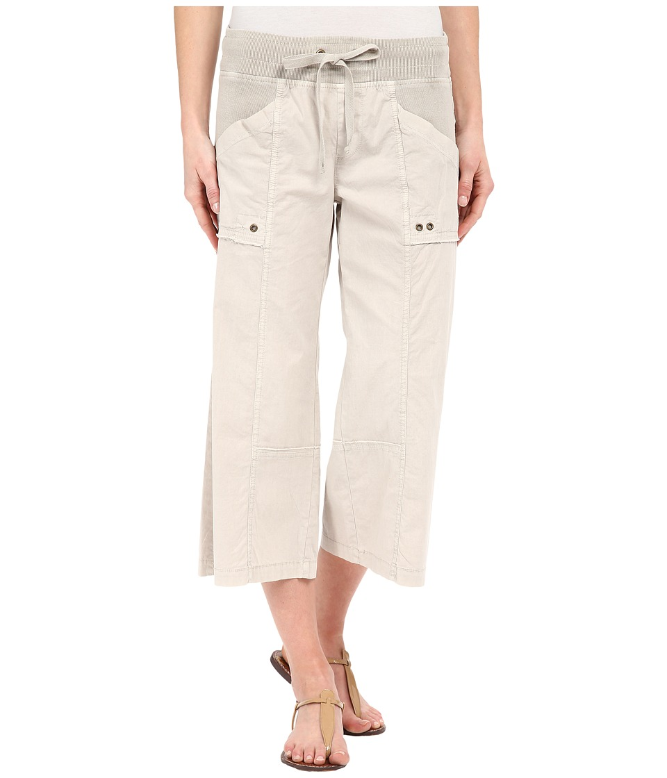 XCVI - Ayara Crop Pants (Cobblestone) Women's Capri