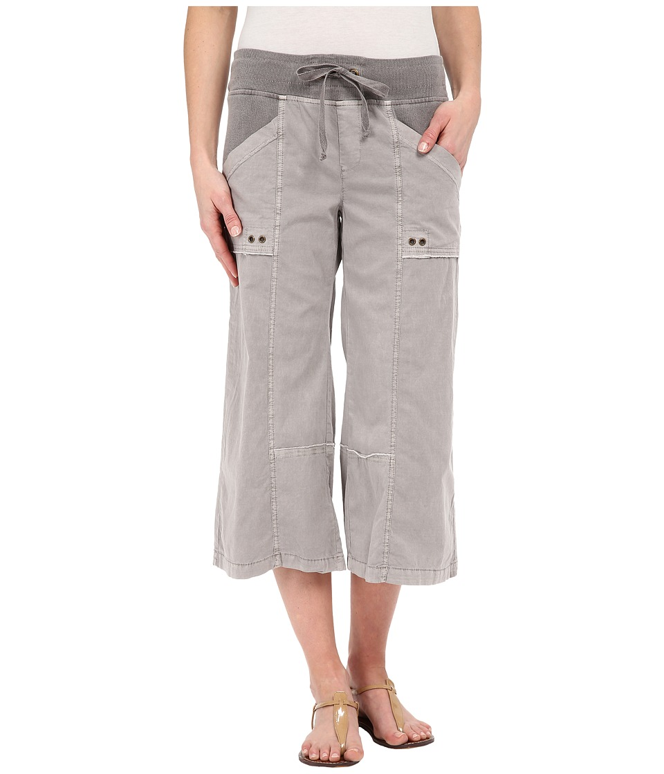 XCVI - Ayara Crop Pants (Pine Bark) Women's Capri