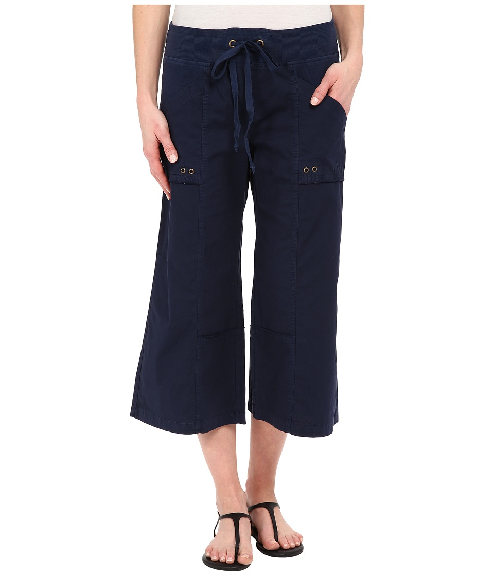 XCVI - Ayara Crop Pants (Navy) Women's Capri
