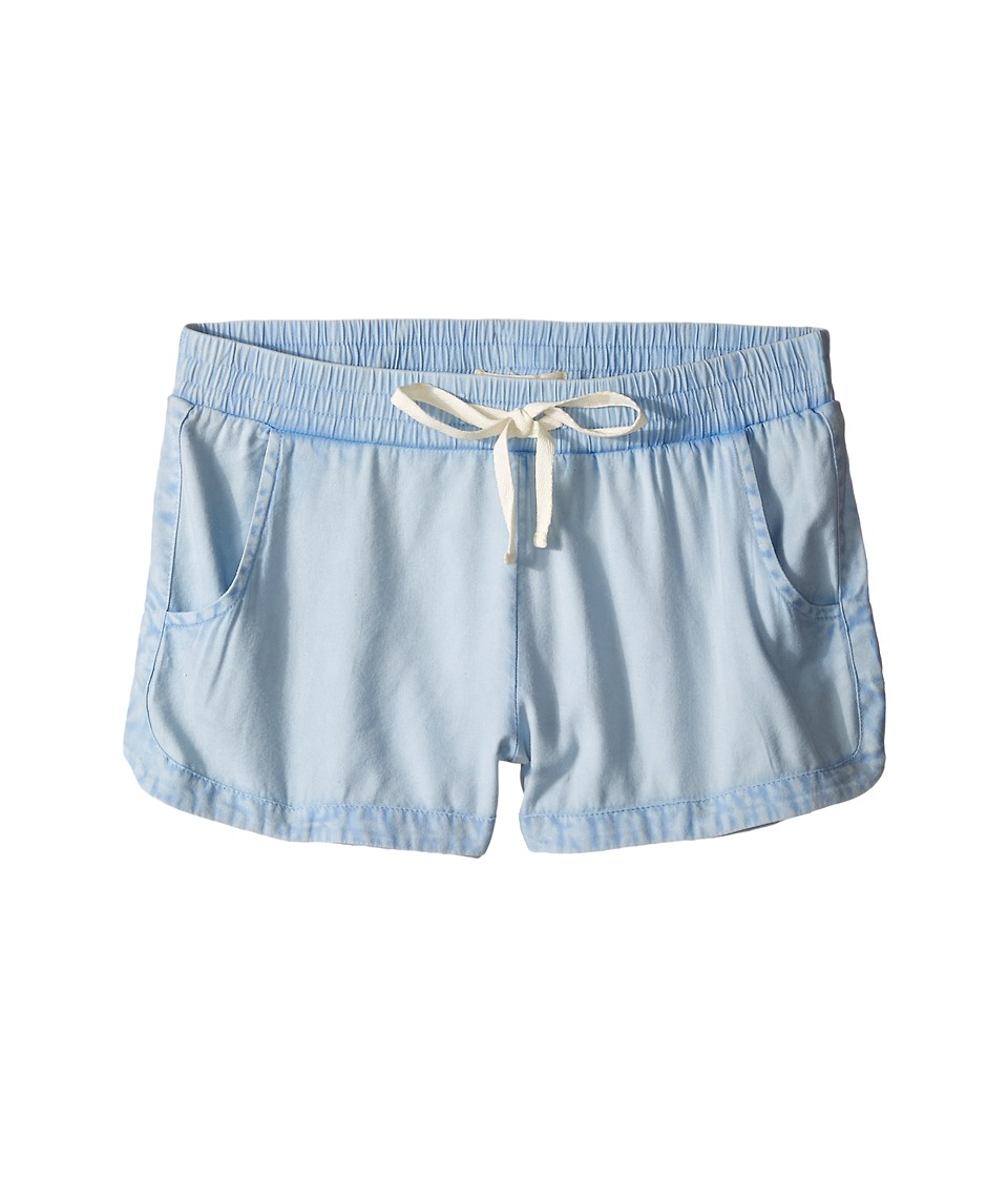 Billabong Kids - Beach Trippin Shorts (Little Kids/Big Kids) (Chambray) Girl's Shorts